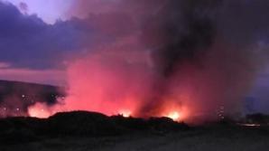 Incendiu urmat de o explozie, într-un adăpost antiaerian. Cel puțin 27 de persoane au fost rănite
