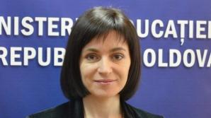 R. Moldova: Maia Sandu, ministrul Educaţiei, desemnată candidat la funcţia de prim-ministru