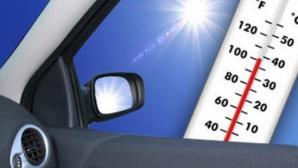 Cât de cald este într-o maşină parcată mult timp la soare. La ce pericole te expui