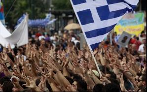 Proteste la Atena