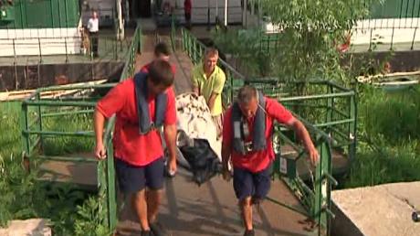 Turist mort pe un vas de croazieră pe Dunăre