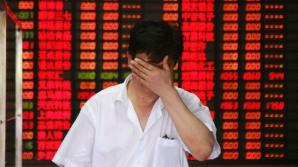 Bursa din China, în cădere liberă