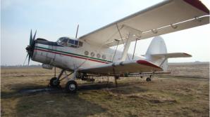 Un avion utilitar s-a prăbuşit la Brăila. Două persoane au fost rănite