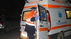 Accident spectaculos lângă Piteşti, filmat cu camera de bord