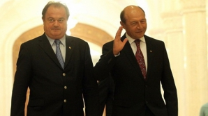 Traian Băsescu şi Vasile Blaga