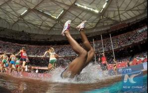 Rolanda Bell, cu capul în apă