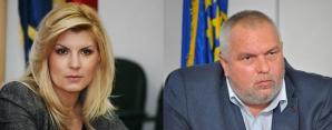 Elena Udrea, Nicuşor Constantinescu şi Victor Ciutacu s-au întâlnir la Mamaia.