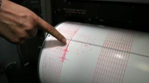 Cutremur în Vrancea, cu puţin timp în urmă