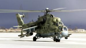 Un elicopter militar rus s-a prăbuşit