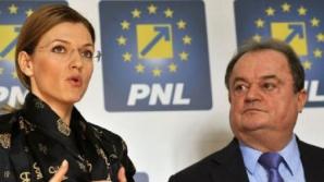 Alina Ghorghiu şi Vasile Blaga, copreşedinţii PNL