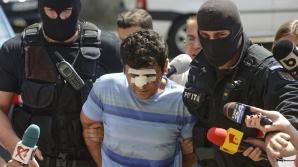 Abdullah Atas, şoferul turc care l-a accidentat pe poliţistul Gheorghe Ionescu. Foto: Mediafax