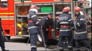 Incendiul la Spitalul din Vaslui. Din fericire, nimeni nu a fost rănit