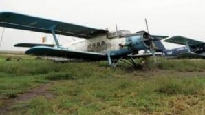 Un avion utilitar s-a prăbuşit la Brăila