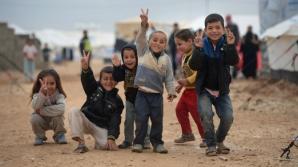 Copiii, principala victimă a războiului și a refuzului de a fugi de război