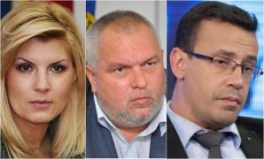 Elena Udrea, Nicuşor Constantinescu şi Victor Ciutacu s-au întâlnit la Mamaia.