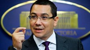 Victor Ponta a fost prezent la ședința senatorilor PSD