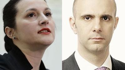 Alina Bica și Șerban Pop au fost eliberați / Foto: Mediafax