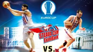 Steaua CSM EximBank a pus în vânzare abonamentele pentru Eurocup
