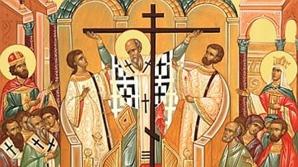 Sărbătoare mare. Astăzi este duminica dinaintea Înălţării Sfintei Cruci