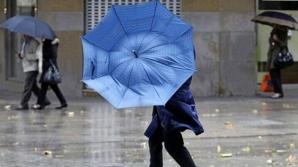 Avertizare meteorologică. Cod galben de vânt puternic