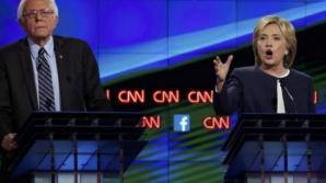 Dezbatere alegeri SUA.Bernie Sanders i-a luat apărarea lui Hillary Clinton în scandalul e-mailurilor