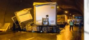 FOTO: Accident extrem de grav în Bulgaria. Peste 50 de maşini implicate
