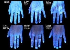 Experiment şocant. Tu cum te speli pe mâini? Iată cât de curate sunt mâinile tale