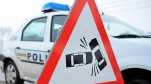 Un şofer beat a provocat un accident grav în Iaşi. Trei maşini, implicate