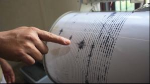 Încă un cutremur în Vrancea