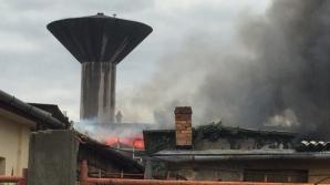 Incendiu puternic la Oradea