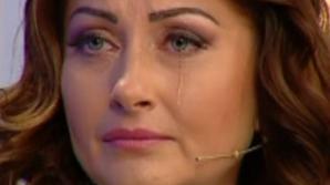 Gabriela Cristea a plâns în hohote, la televizor