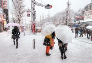 Ninsori fără precedent în Japonia: doi morţi, peste 100 de răniţi