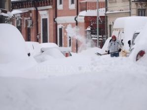 Zăpadă în România