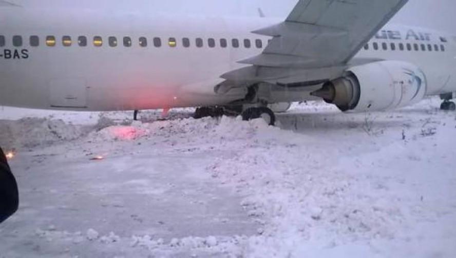 Incidentul aviatic din Cluj. Ancheta CIAS: Motivele pentru care avionul Blue Air a ieşit după pistă