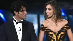 Mădălina Ghenea, gafă incredibilă pe scena Festivalului de la Sanremo