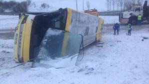 2 copii morţi şi 7 răniţi, într-un accident în care a fost implicat un autocar şcolar, în Franţa