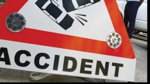 Accident grav în Vâlcea. Viteza şi acoolul fac prăpad pe şosele