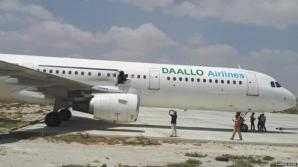 Explozia produsă la bordul avionului Airbus somalez a fost provocată de o bombă