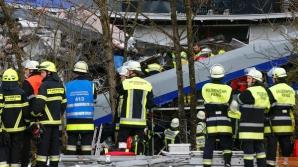 Accidentul feroviar din Germania, produs dintr-o eroare umană. Imagini din trenul groazei