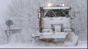 Ninge în tot județul Harghita. Circulația este îngreunată pe DN 12A