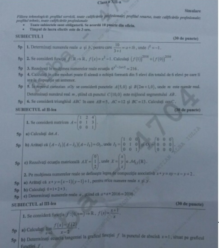 (w728) Subiecte m