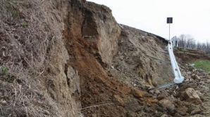 Circulaţie restricţionată pe DN1, la Câmpina, din cauza unei alunecări de teren / Foto: Arhiva