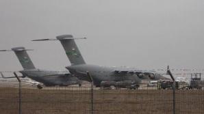 Avion militar, aterizare de urgenţă pe Mihail Kogălniceanu. Planul roşu de intervenţie, activat