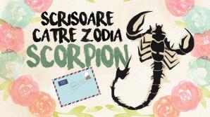 Scrisoare către zodia Scorpion