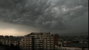 COD GALBEN de furtuni. Judeţele afectate