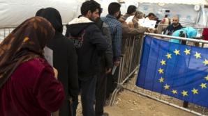 """Refugiaţi, în greva foamei. """"Nu va mânca nimeni atât timp cât frontiera este închisă"""""""