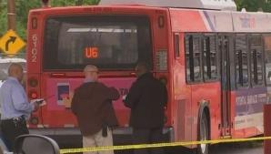 Autobuz deturnat în Washington DC: un pieton a murit