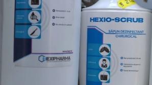 Haxi Pharma, reacţie în scandalul dezinfectanţilor: Nu mai tăcem! Am jucat cum ne-a dictat sistemul