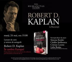 Robert D. Kaplan,unul dintre cei mai importanţi analişti de politică externă americani, la BUcureşti