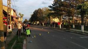 Botoșani: Bărbați, reținuți după un accident mortal produs ca urmare a unei curse ilegale de mașini